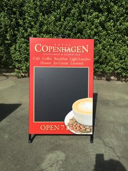 Royal Copenhagen Dessert Bar A-Frame