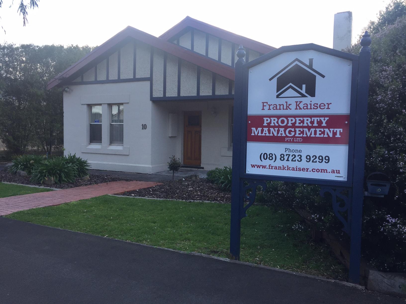 Frank Kaiser Property Signage