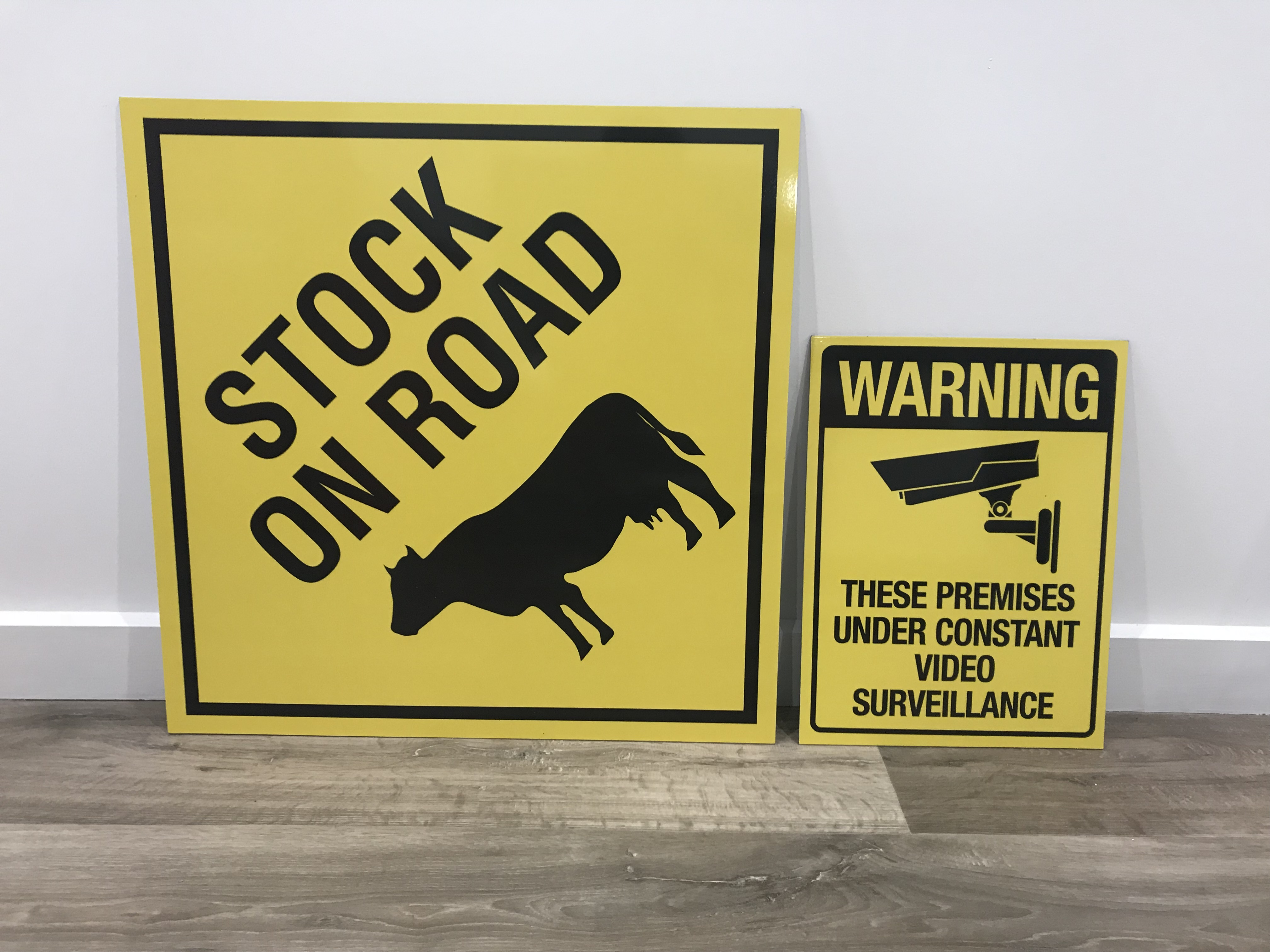 Stock on Roas Signs