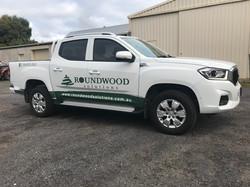 Roundwood Solutions Ute Signge