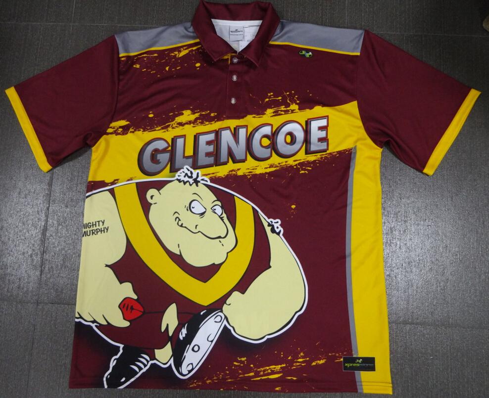 Glencoe Footy Trip Polo's
