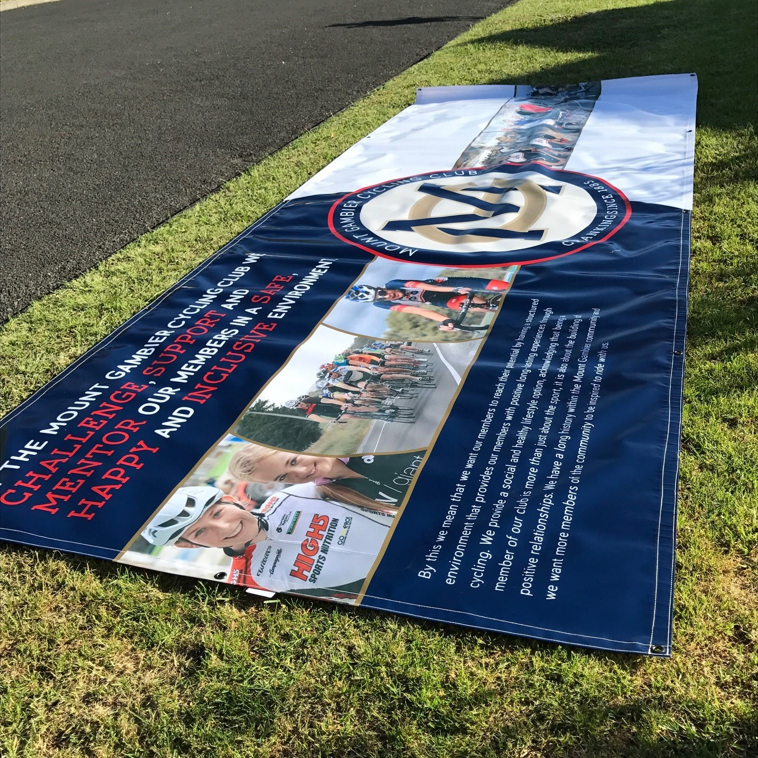Mount Gambier Cycling Banner