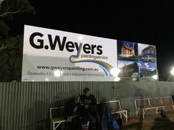 GWeyers Speedway Signage