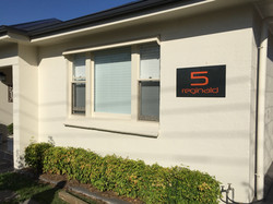 Lasercut House Numbers