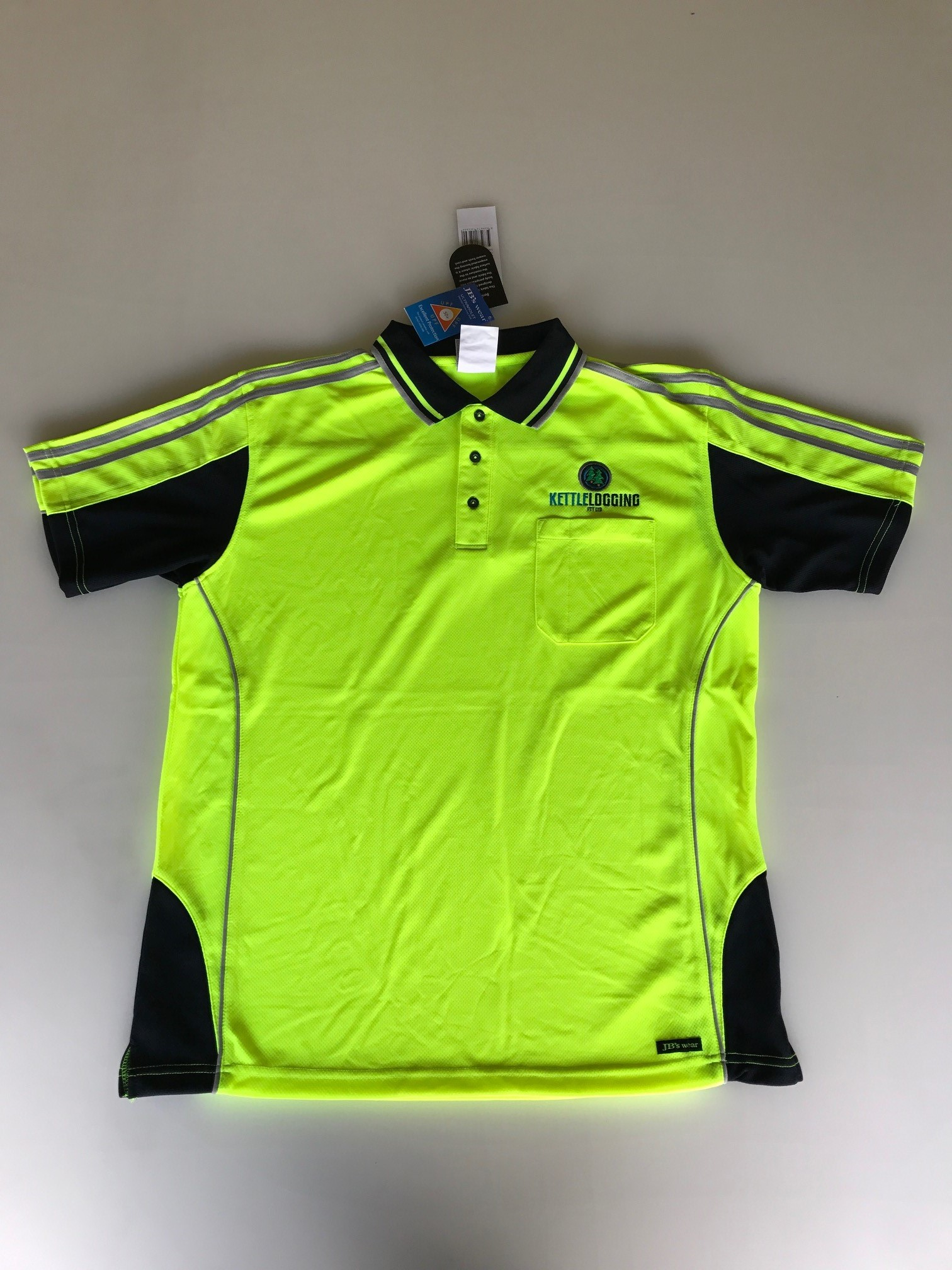 Kettle Logging High Vis Polo Shirt