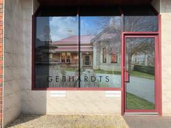 Gebhardts Real Estate Office Signage