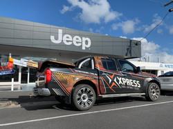 Jeep Fascia Signage