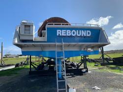 Rebound Boat Signage