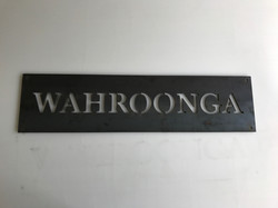 Wahroonga Gate Sign