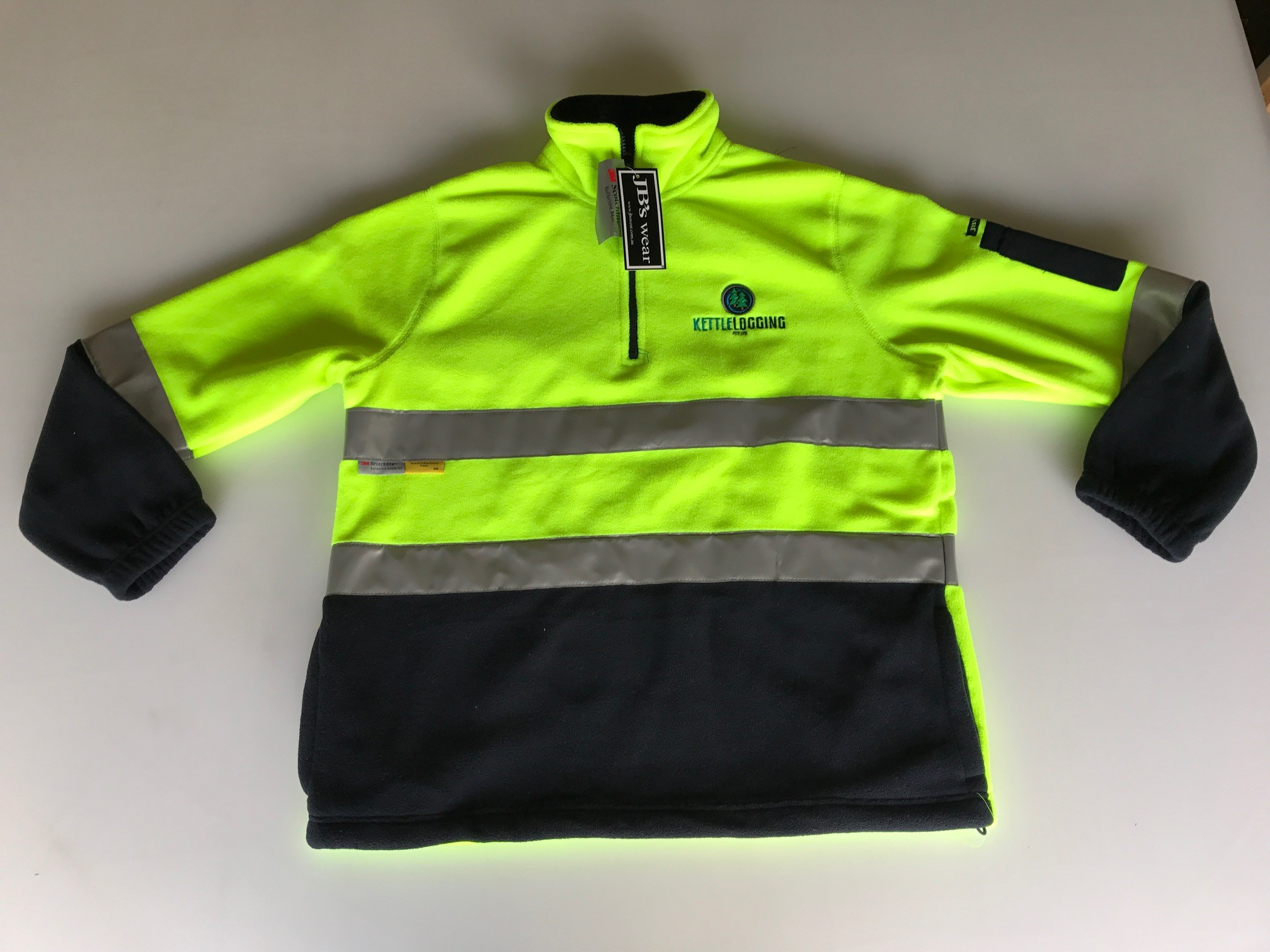 Kettle Logging High Vis Jumper