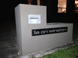 Lasercut Letterbox Signage