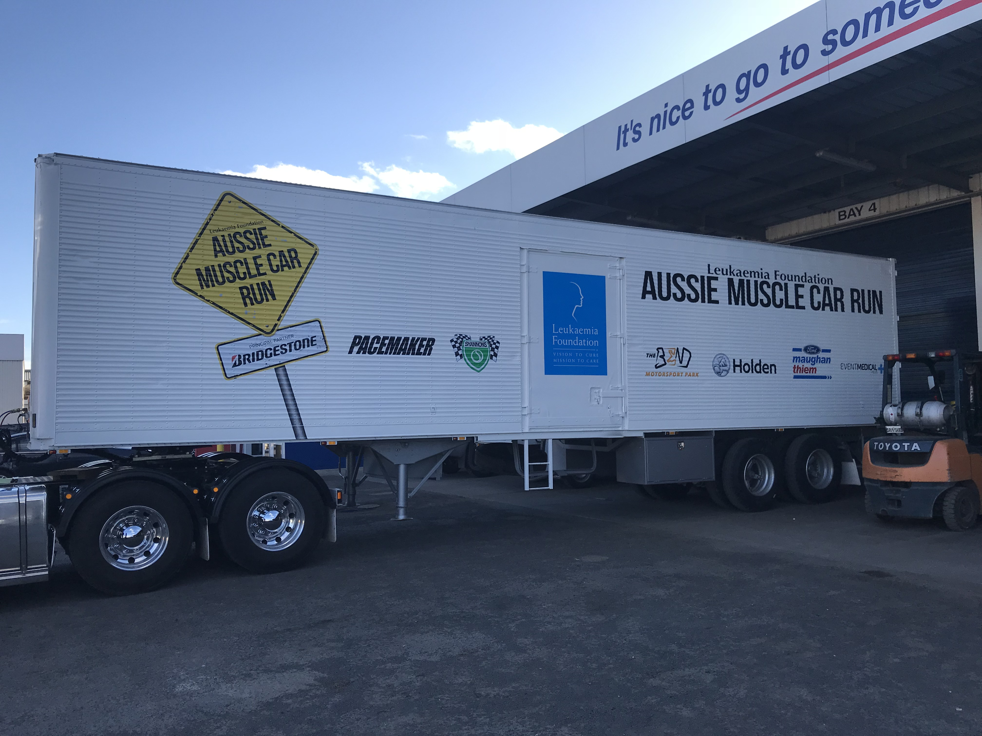 Aussie Muscle Car Trailer Signage
