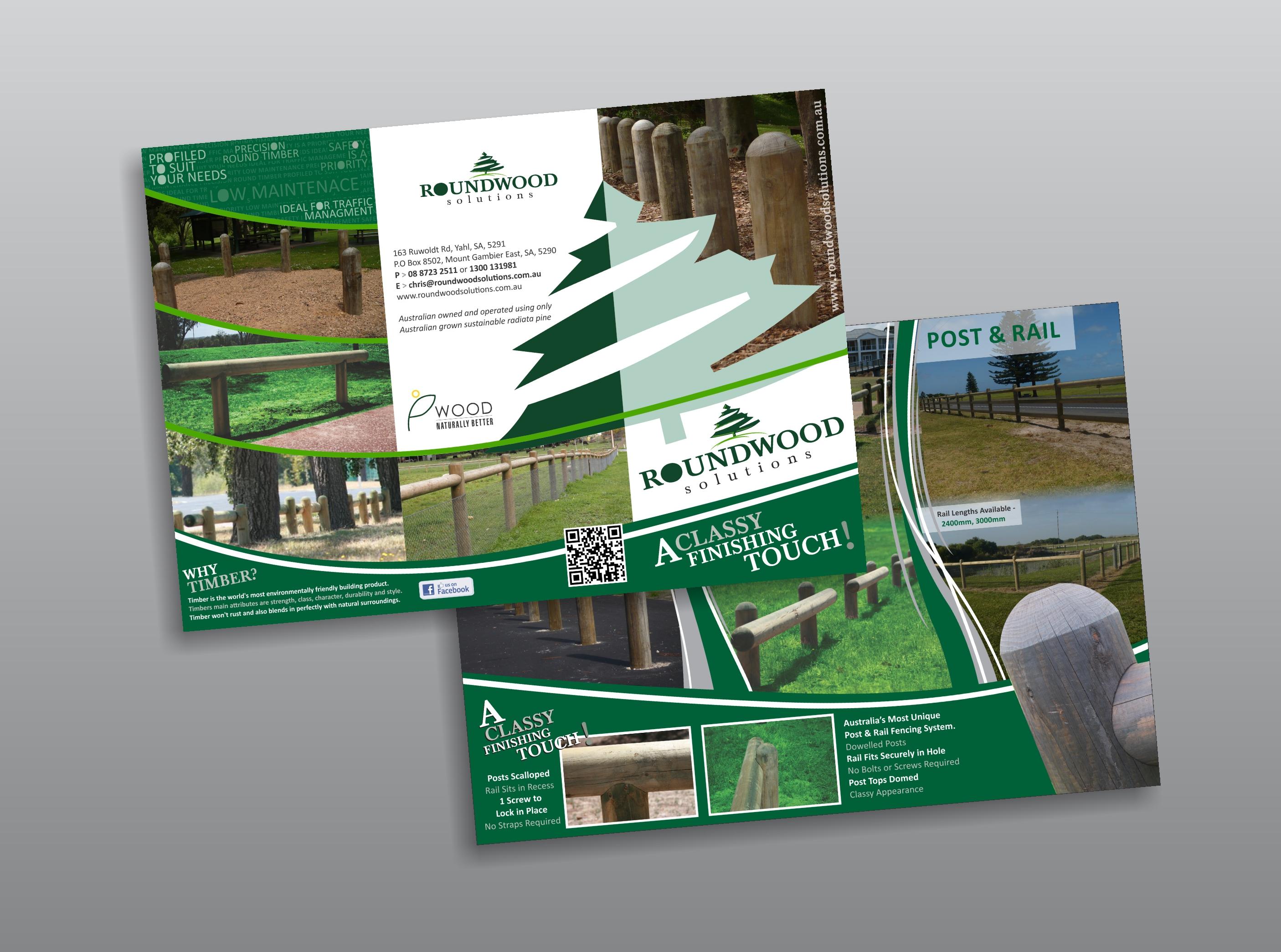 Roundwood DL Folded Brochures