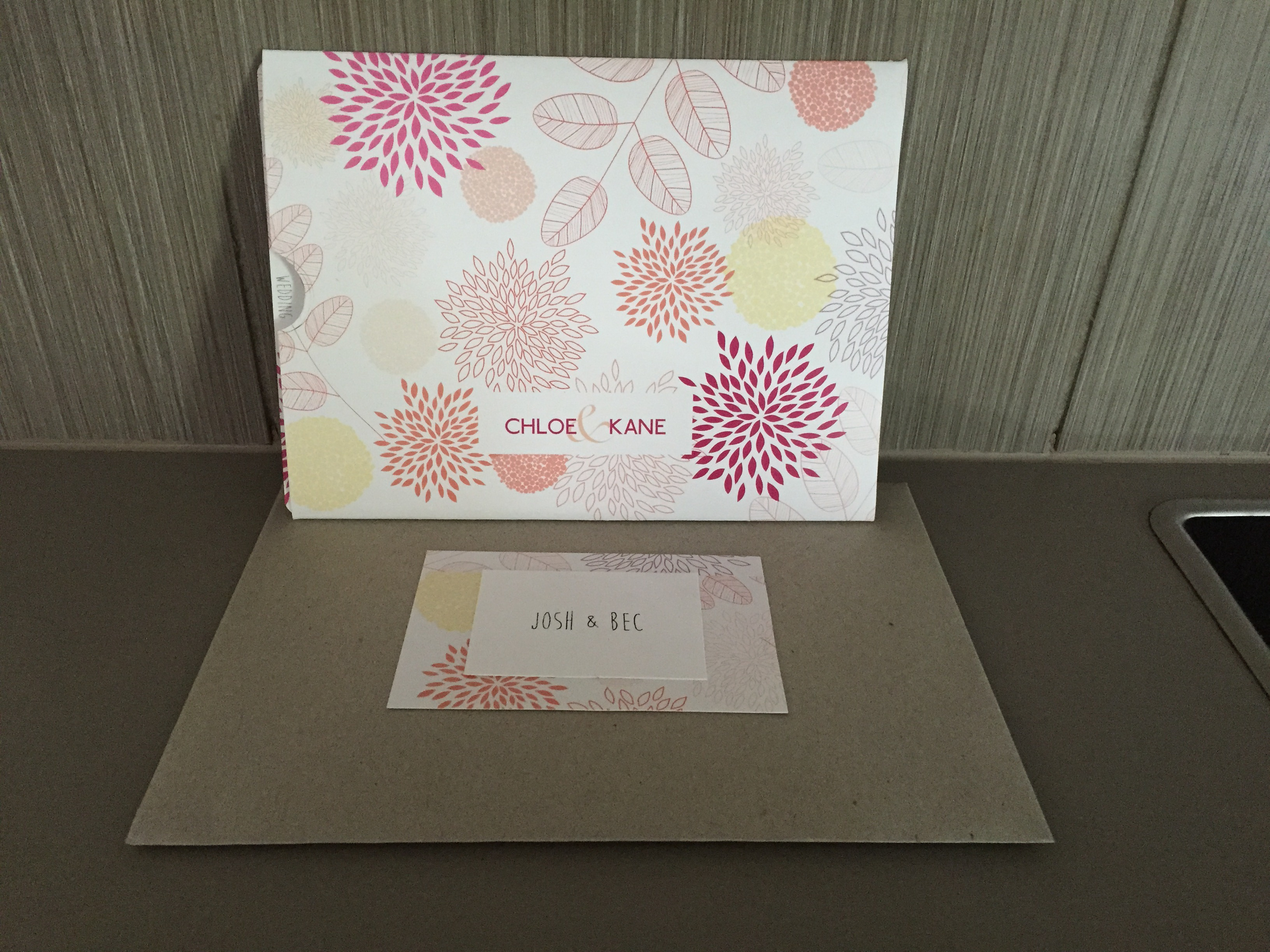 Wedding Invite Envelope
