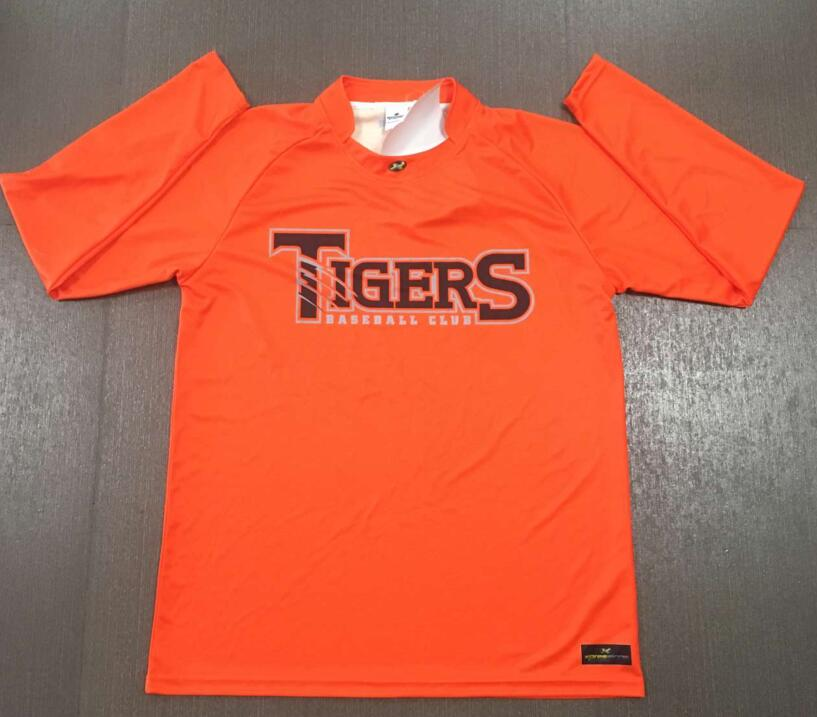 Tigers Long Sleeve Warm Up Tops