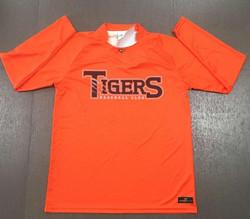 Tigers Long Sleeve Warm Up Tops