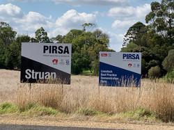 PIRSA Sign