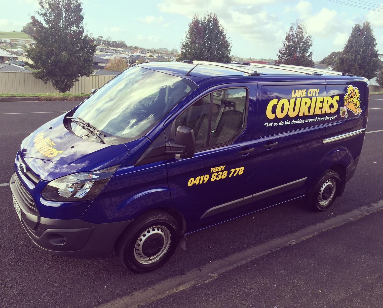 Lake City Couriers Van