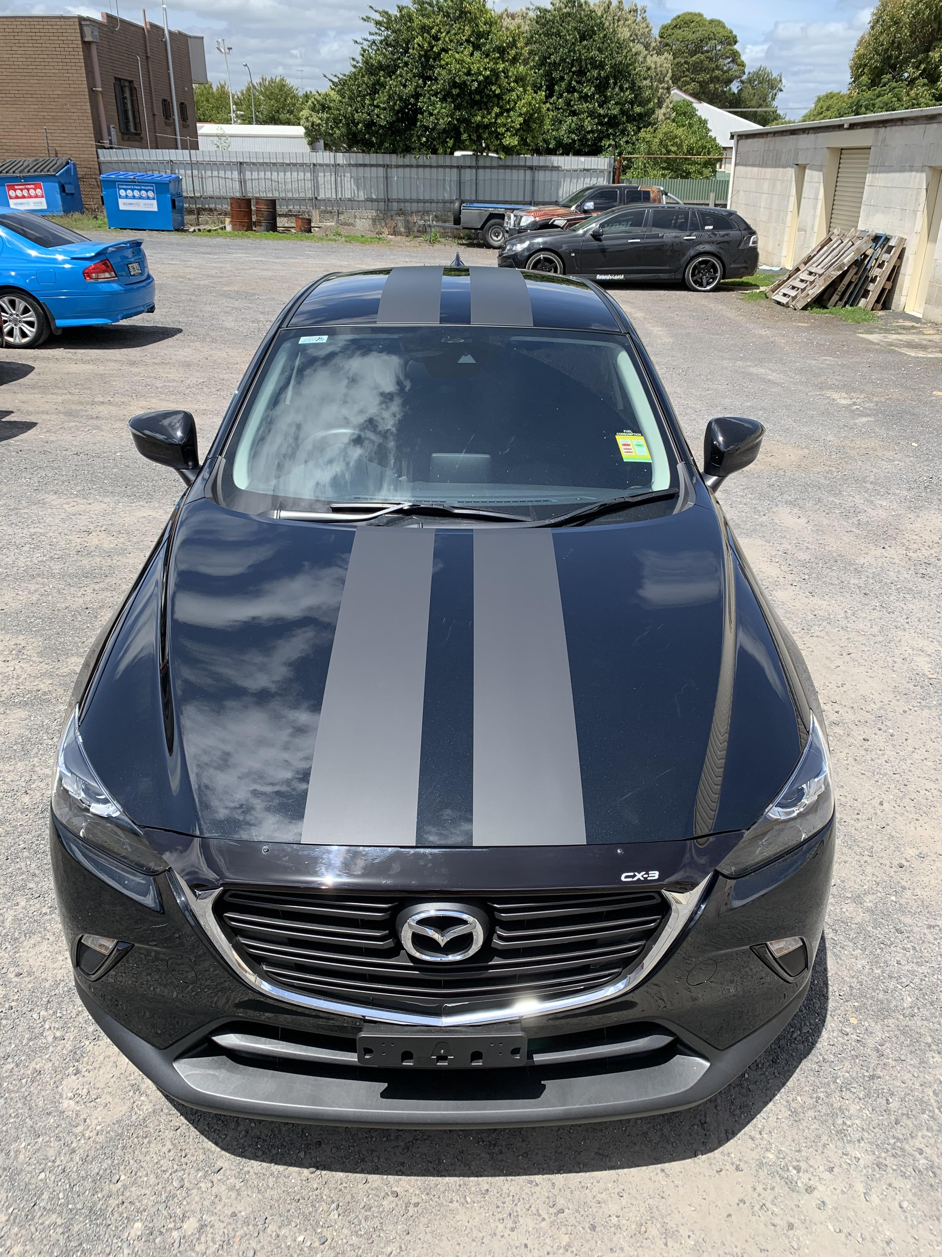 Mazda CX3 Racing Stripes