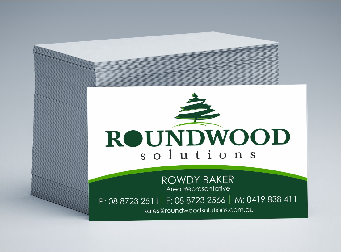 Roundwood Solutions Business Cards