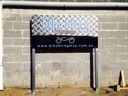 Bike Bling Signage