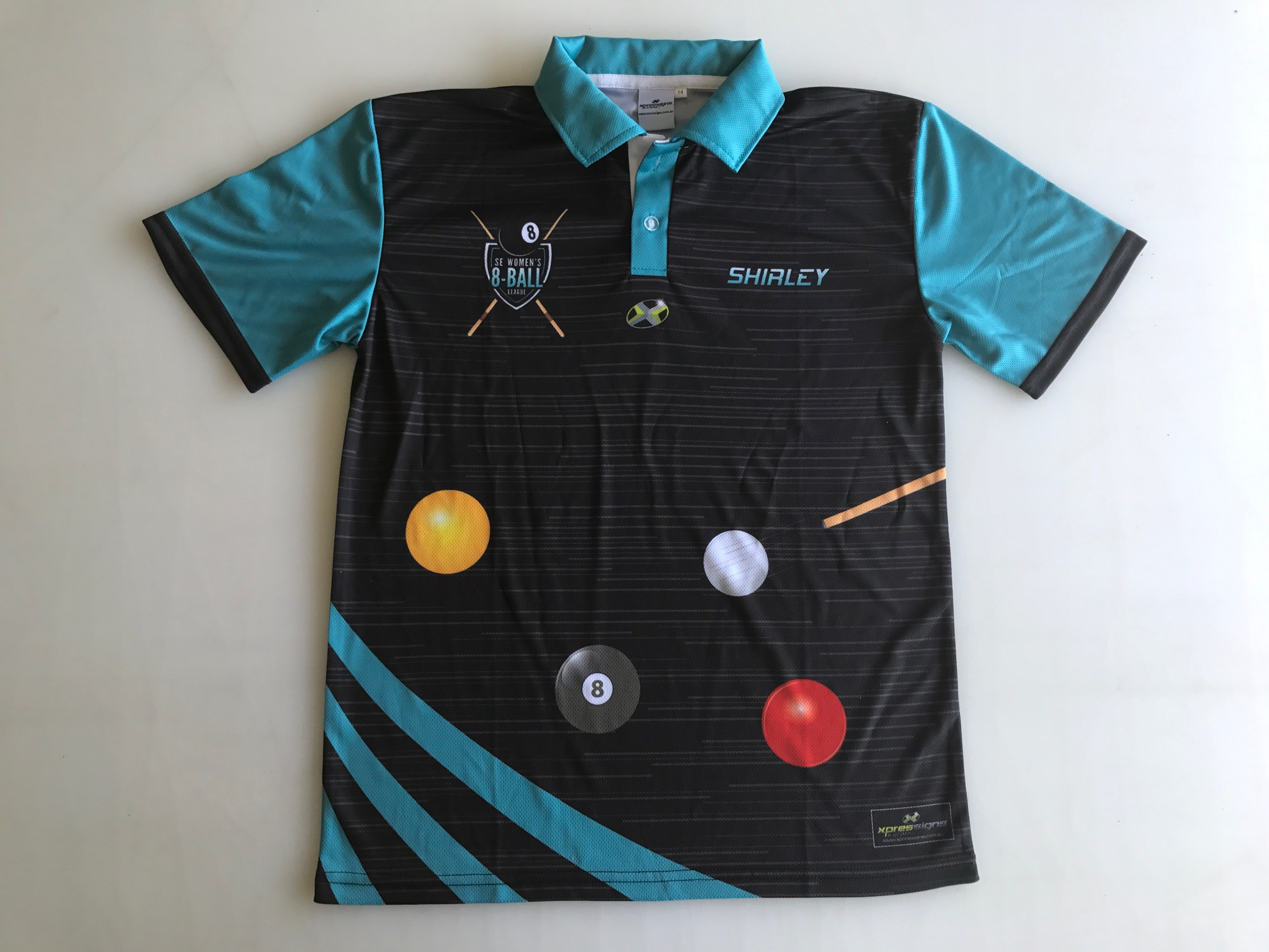 Mount Gambier Womens 8 Ball Polo