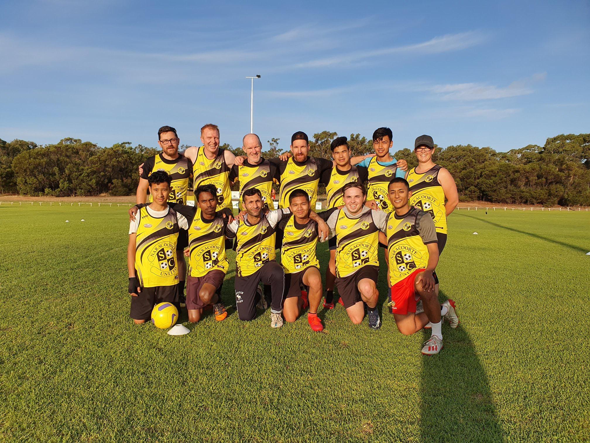 Naracoorte United Soccer Pre-Season