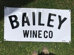 Bailey Wine Co Banner