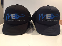 MED Electrical Trucker Caps