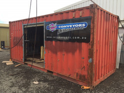 SE Conveyors Container Signage