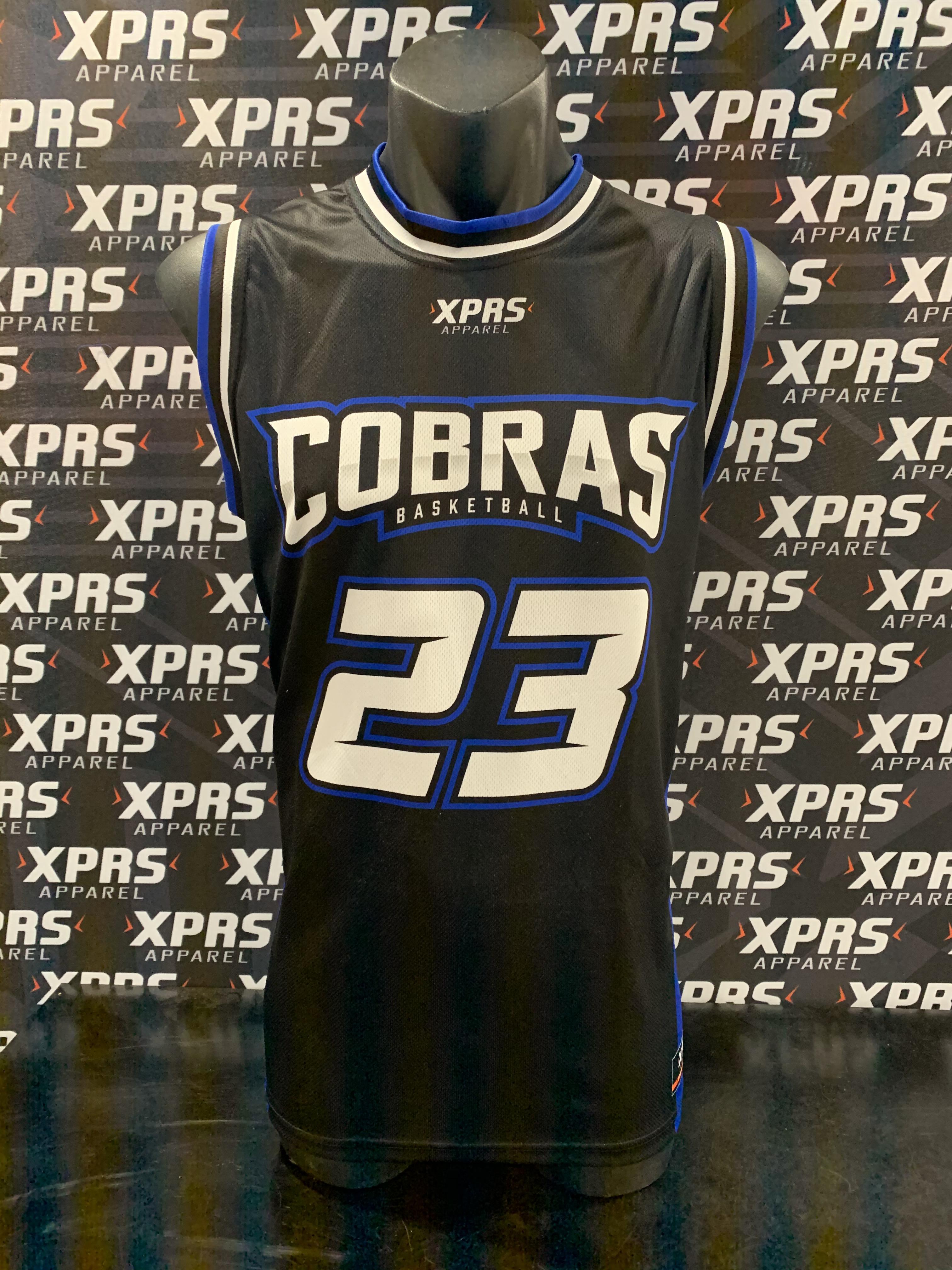 Cobra's Basketball Singlet