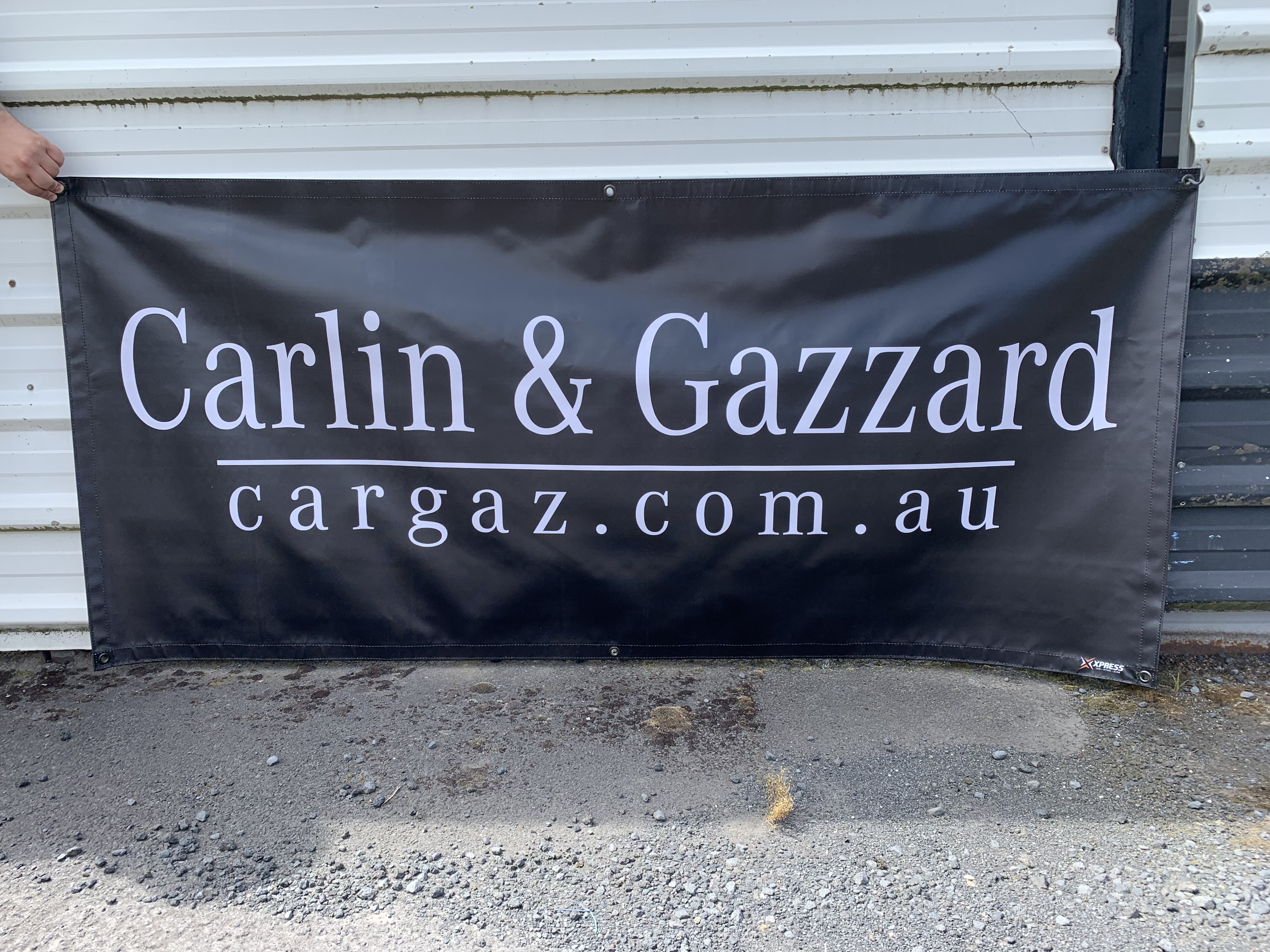 Carlin & Gazzard Banner