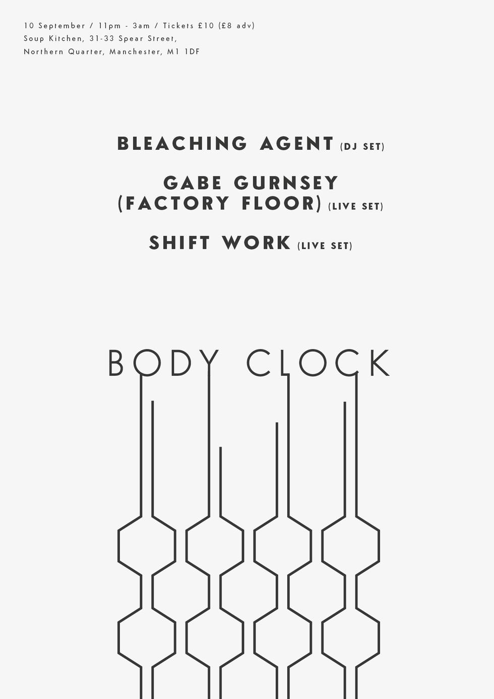 Body Clock I Poster