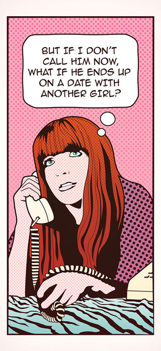 Vivian Girls Pop Art