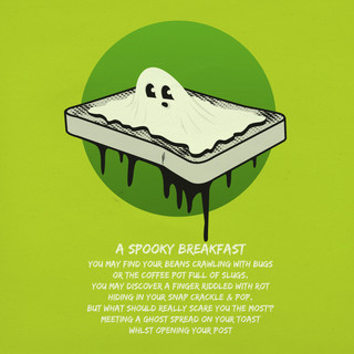 Ghost On Toast