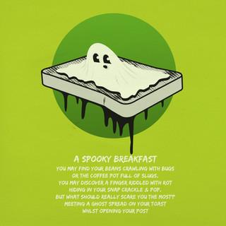 Ghost On Toast