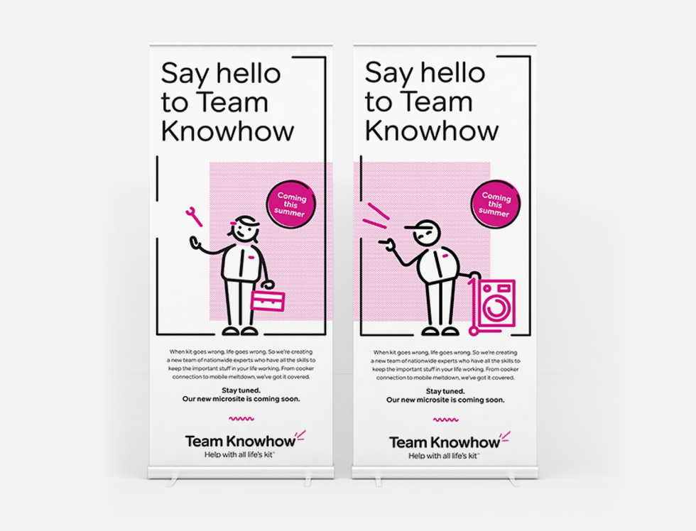 Internal Pull-up Banners