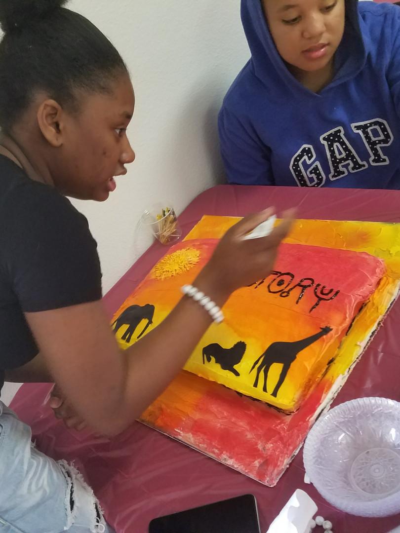 Black History Month Cake Artistry