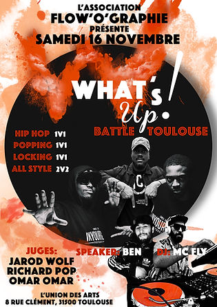 What's up Toulouse 2019 fond blanc full.