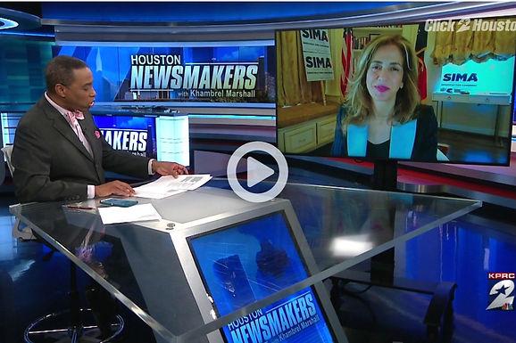 Sima Ladjevardian on KPRC2 Houston Newsmakers
