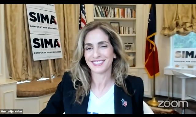 Sima Ladjevardian es anfitriona del ayuntamiento virtual con los héroes de atención médica COVID-19 de Houston
