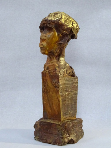 FANFAN-2019-Bronze and gold-45X17X17cm