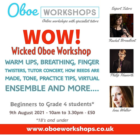 WOW - Wicked Oboe Workshop