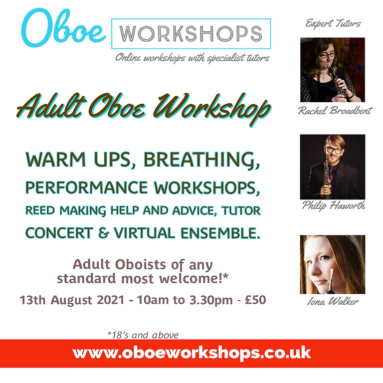 Adult Oboe Workshop