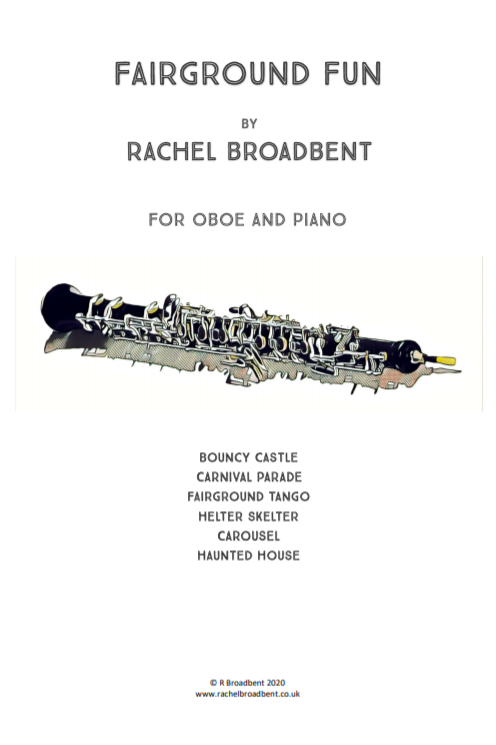 Fairground Fun for oboe and piano