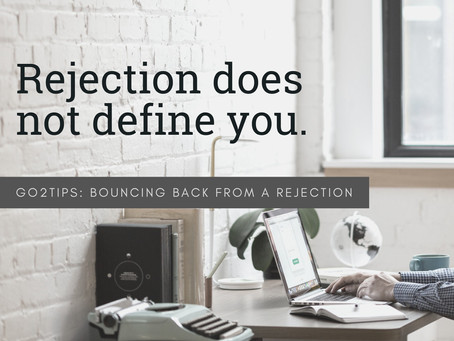 Bouncing Back from a Rejection