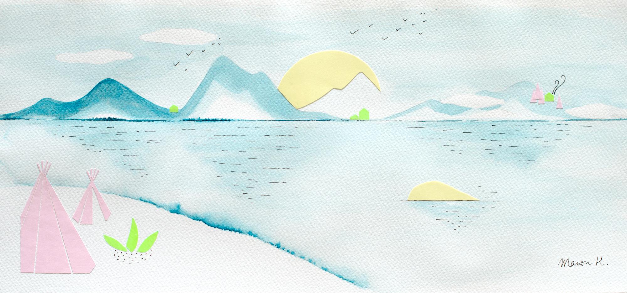 Aquarelle - Manon H