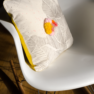 Coussin Eclosion - Soleil