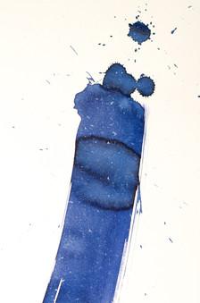 Comète bleue