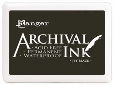 Jet Black - Archival Pad